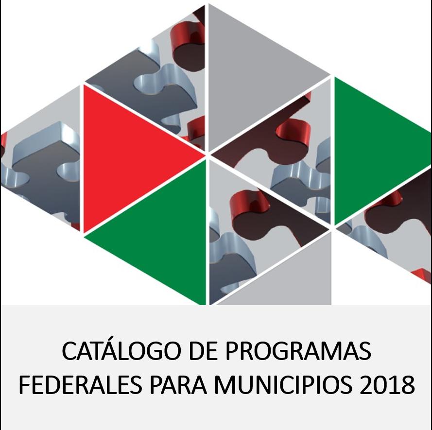 CATALOGO DE PROG. FEDERALES