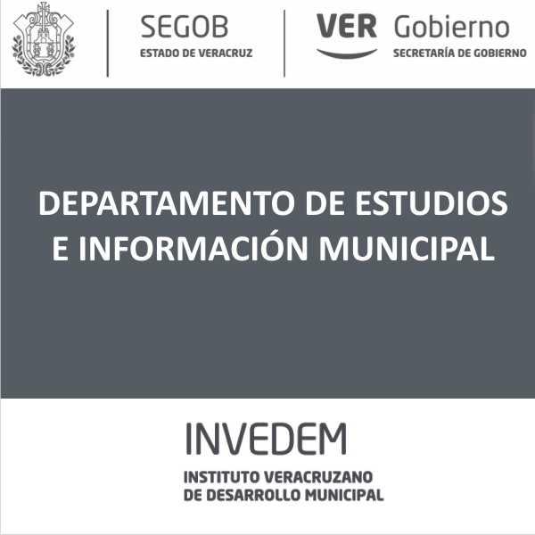 ESTUDIOS E INFORMACIÓN MPAL.